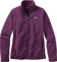Patagonia W's Better Sweater Jacket Giacca in Pile Donna, Violet