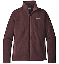 Patagonia Better Sweater - giacca in pile trekking - donna, Dark Red