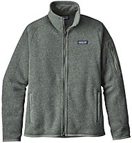 Patagonia Better Sweater - Giacca in Pile trekking - Donna, Green