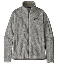 Patagonia Better Sweater - giacca in pile - donna, Grey
