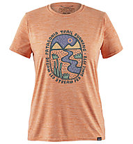 Patagonia Cap Cool Daily Graphic - T-Shirt Trekking - Damen, Pink