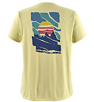 Patagonia Cap Cool Daily Graphic - T-Shirt Trekking - Damen, Yellow