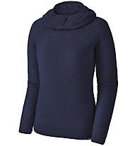 Patagonia Capilene Air - Langarmshirt mit Kapuze - Damen, Blue