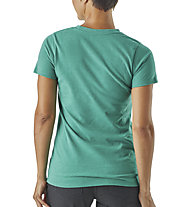 Patagonia Ws Defend Earth Resp. - T-shirt trekking - donna, Green