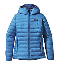Patagonia W's Down Sweater Hoody Giacca piuma donna, Andes Blue