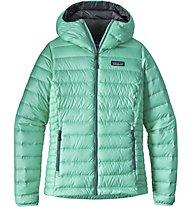 Patagonia Down Sweater Hoody Daunenjacke Damen, Green