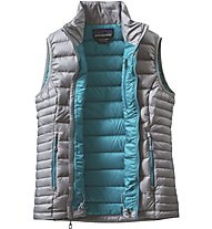 Patagonia W's Down Sweater Vest Gilet in piuma trekking donna, Grey