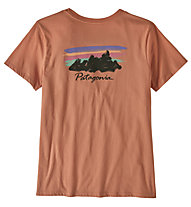 Patagonia Free Hand Fitz Roy - T-Shirt - Damen, Red