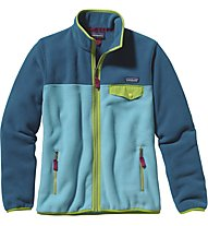 Patagonia W's Full-Zip Snap-T - Damen-Fleecejacke, Blue