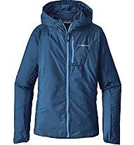 Patagonia W's Houdini Jacket Damen Windjacke mit Kapuze, Blue