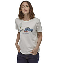 Patagonia Live Simply Lounger Organic Crew - T-shirt - donna, White