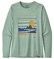 Patagonia Long-Sleeved Cap Cool - Langarm-Shirt - Damen, Green