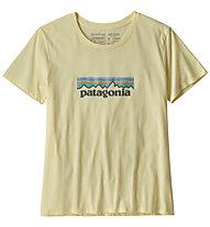 Patagonia Oastek O-6 Logo Organic - T-Shirt Klettern - Damen, Yellow