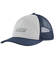 Patagonia Pastel P-6 Label Layback - cappellino - donna, Blue/White