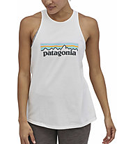 Patagonia W's Pastel P-6 Logo Org Tank - Top - Damen , White