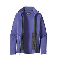 Patagonia R1 Full-Zip Jacke Damen, Violet Blue