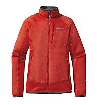 Patagonia R2 Fleecejacke Damen, Turkish Red