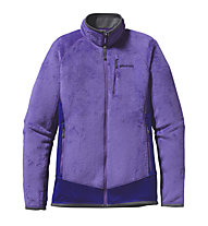 Patagonia W´s R2 Jacket - Giacca donna in pile, Violetti