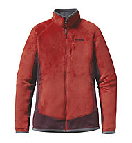 Patagonia R2 Fleecejacke Damen, Cochineal Red