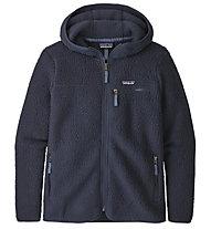 Patagonia Retro Pile Hoody - giacca in pile con cappuccio - donna, Blue