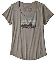 Patagonia Solar '73 Organic - T-shirt - donna, Grey