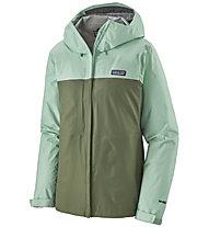 Patagonia Torrentshell 3L - giacca trekking - donna, Green