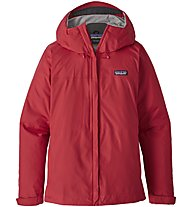 Patagonia Torrentshell - giacca hardshell - donna, Red