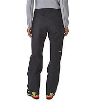 Patagonia Triolet - pantaloni sci alpinismo - donna, Black