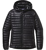 Patagonia W's Ultralight Down Hoody Giacca in Piuma Donna, Black