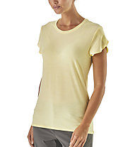 Patagonia Glorya Tee - Wander T-Shirt - Damen, Yellow