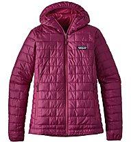 Patagonia Nano Puff - Hybridjacke mit Kapuze - Damen, Pink