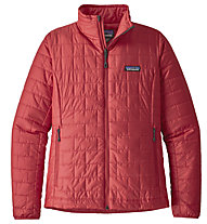 Patagonia Nano Puff - Giacca alpinismo - donna, Red