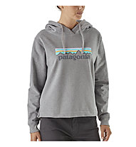 Patagonia Pastel P-6 Logo Uprisal - Kapuzenpullover Wandern - Damen, Grey