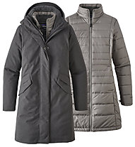 Patagonia Ws Vosque 3-in-1 Parka - giacca con cappuccio - donna, Grey
