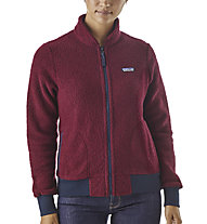 Patagonia Ws Woolyster Fleece - giacca in pile - donna, Red