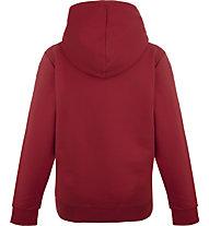 Peak Performance Ground Hoodie - felpa con cappuccio - bambino, Red