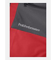 Peak Performance M Maroon Race - Skijacke mit Kapuze - Herren, Red/Black