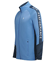Peak Performance Rider Zip - Midlayer - Herren, Light Blue