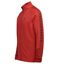 Peak Performance Rider Zip - Midlayer - Herren, Red