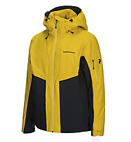 Peak Performance Maroon Race - Skijacke - Herren, Yellow/Black