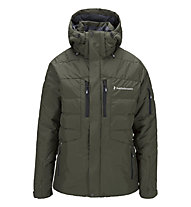 Peak Performance Shiga Skijacke, Forest Green/Black