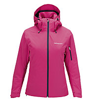 Peak Performance W Anima J Damen-Skijacke, Magenta Pink/Mount Blue