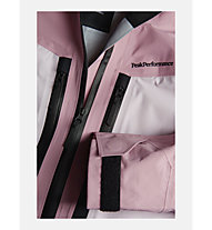Peak Performance W Gravity - Skijacke mit Kapuze - Damen, Pink/Black