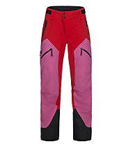 Peak Performance W Gravity 2L - pantaloni da sci - donna, Pink/Red