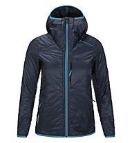 Peak Performance W Heli Liner Jacket Giacca da sci Donna (2015), Blue Shadow/Paradise Blue