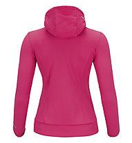 Peak Performance W Sizzler Zip Hood Kapuzenjacke/Fleecejacke für Damen, Magenta Pink