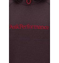 Peak Performance Will Hood Kapuzenpullover, Mahogany