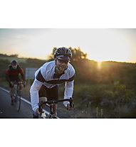 Pedal Ed Giacca bici antivento Gufo Jacket, White/Blue