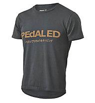 Pedal Ed Logo Tee -  T Shirt - Herren, Black