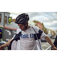 Pedal Ed Logo Tee -  T Shirt - Herren, White